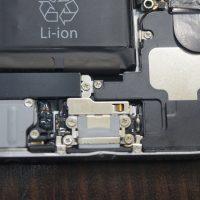 液晶交換とフレーム修正 iPhone6 4