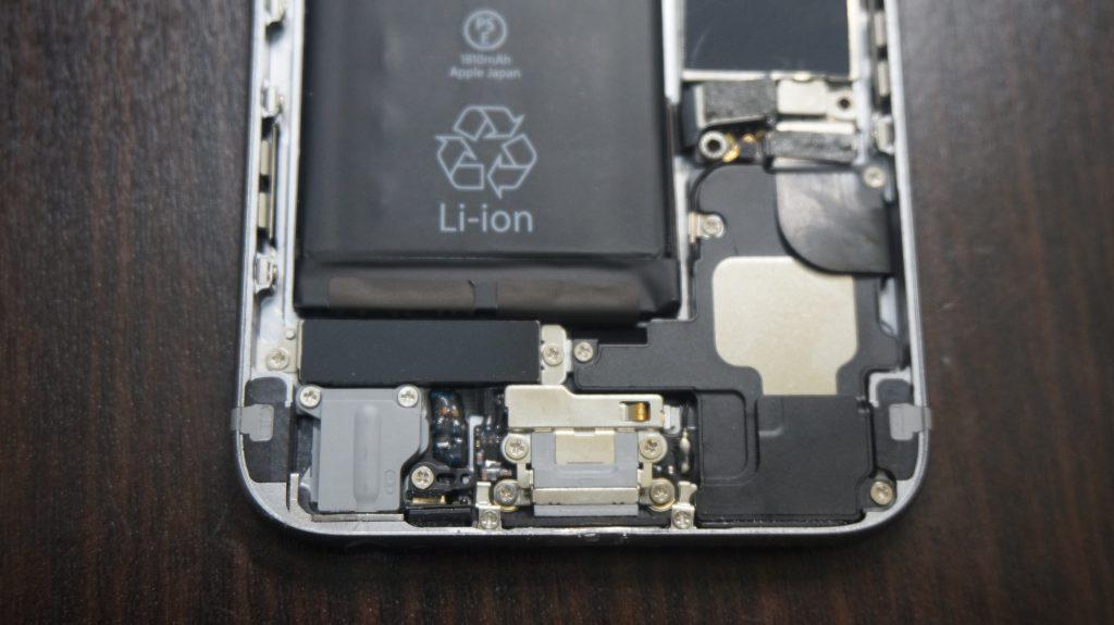 液晶交換とフレーム修正 iPhone6 5