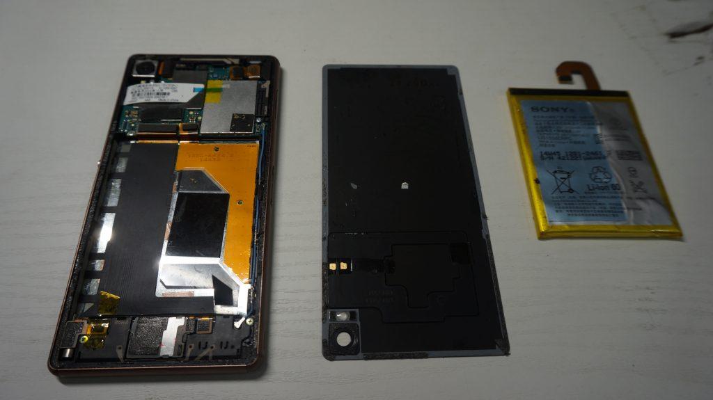 液晶割れ交換安い Xperia Z3 4
