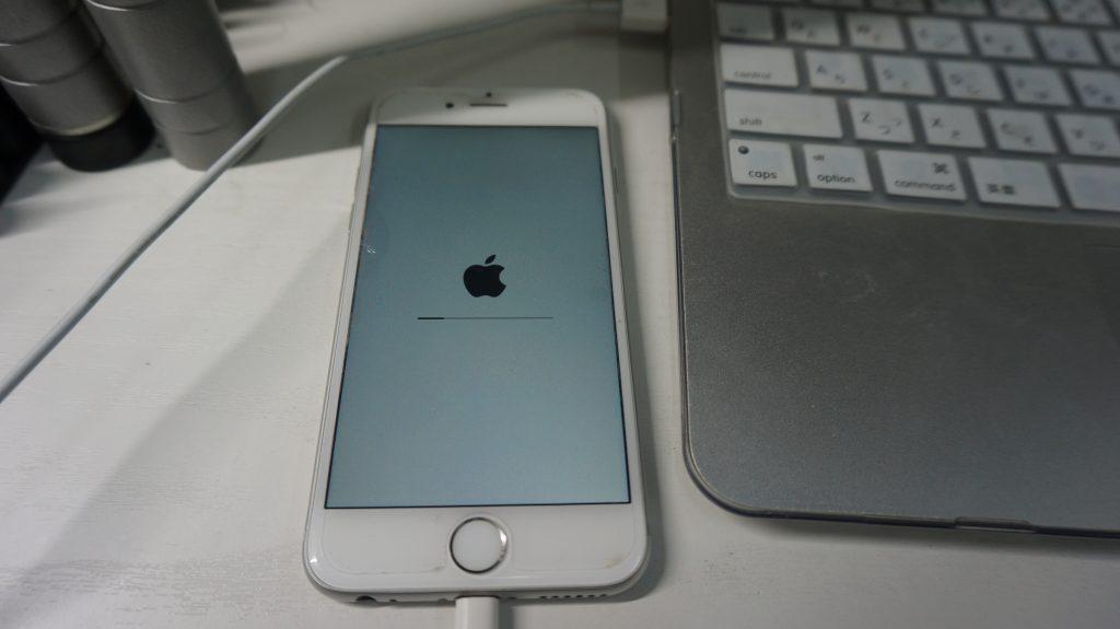 リカバリーモード復旧 iPhone6 3