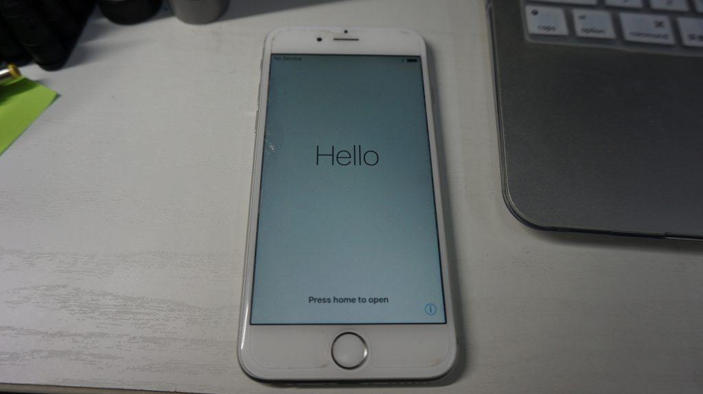 リカバリーモード復旧 iPhone6 4