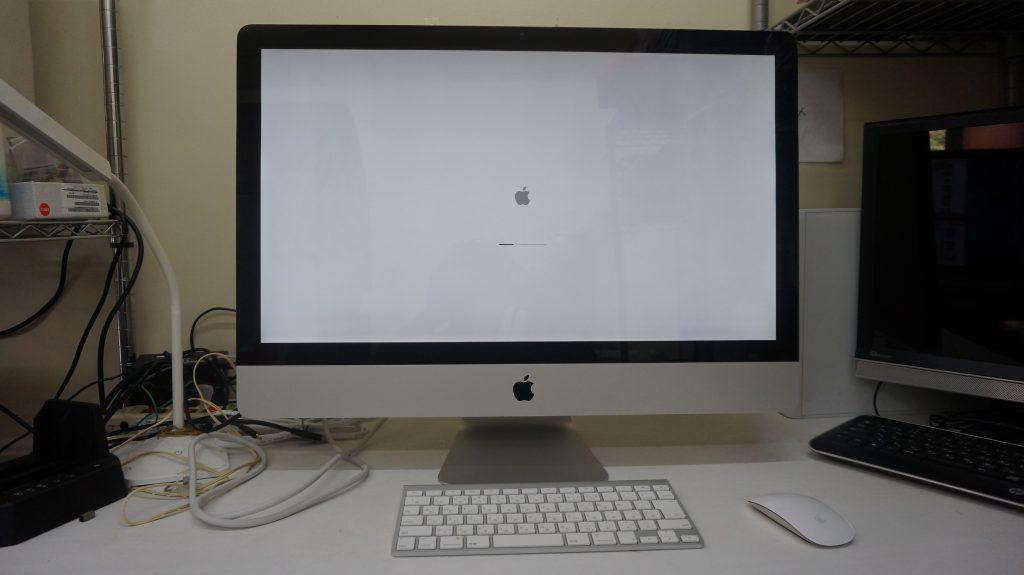 iMac27 A1312 HDD異常で起動しない 3TB換装 1