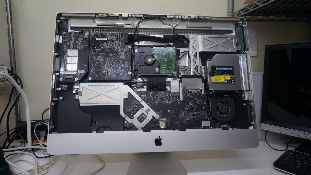 iMac27 A1312 HDD異常で起動しない 3TB換装 3
