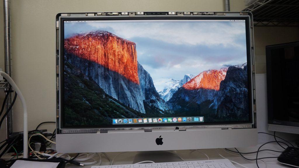 iMac27 A1312 HDD異常で起動しない 3TB換装 8