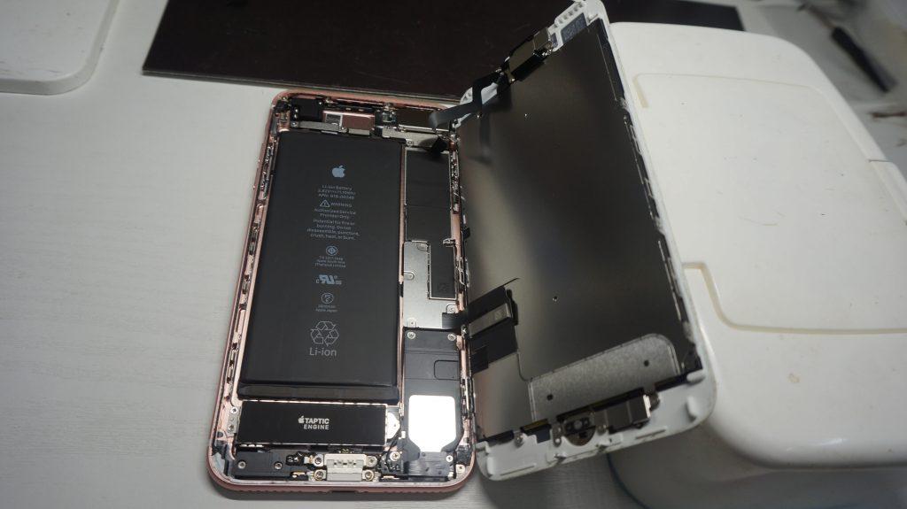 液晶交換安い iPhone7 Plus 3