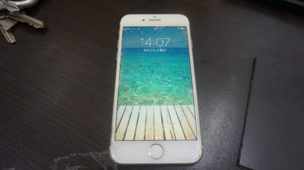 画面割れ修理が安い iPhone7 1