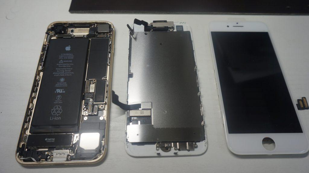 画面割れ修理が安い iPhone7 5