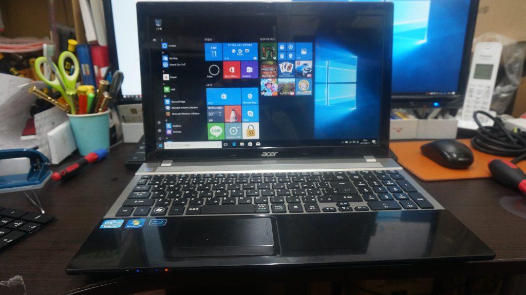 キーボード交換 Acer Aspire V3-571-H58 1