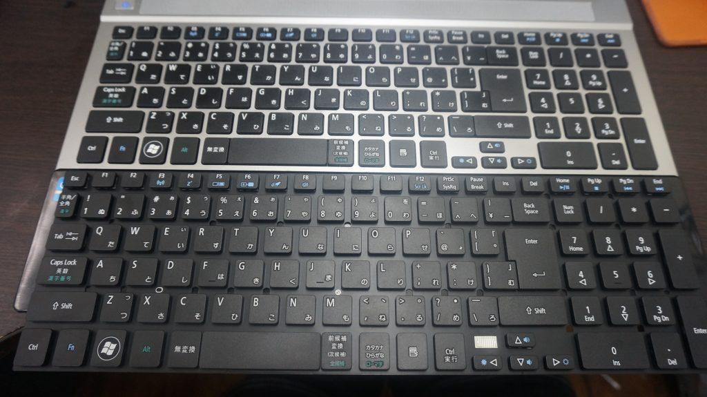 キーボード交換 Acer Aspire V3-571-H58 2