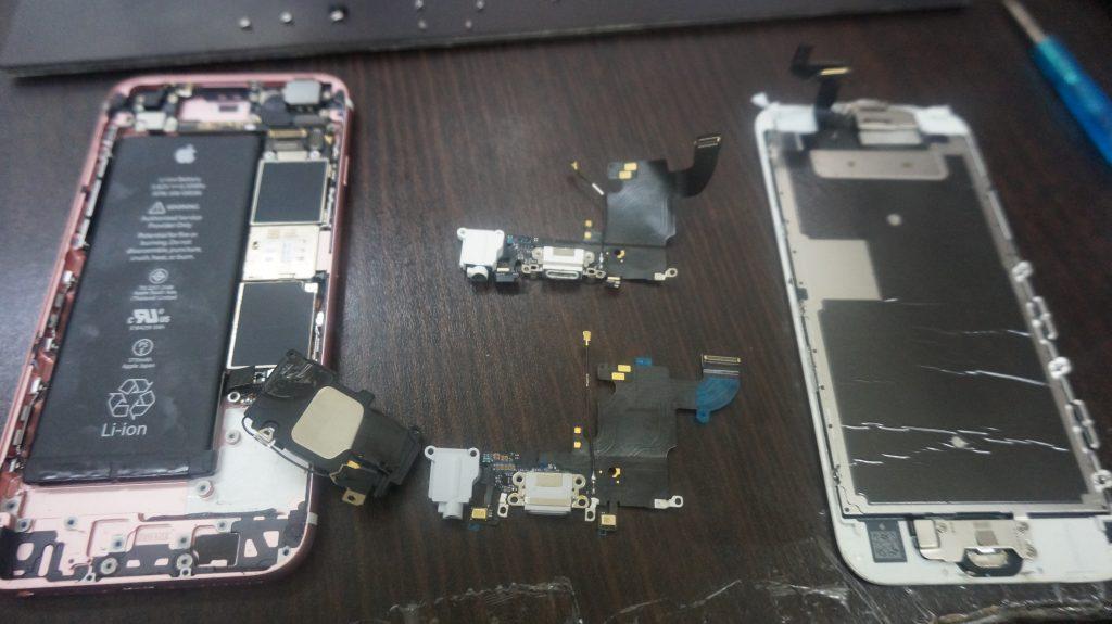 イヤホンジャックつまり修理 iPhone6s 3