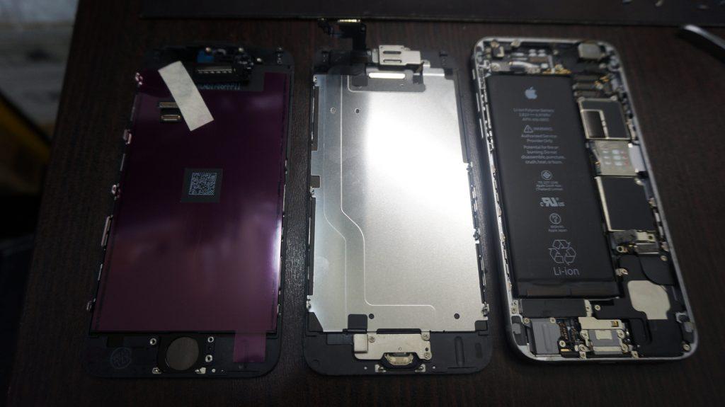 -画面液晶割れ交換 iPhone6 4