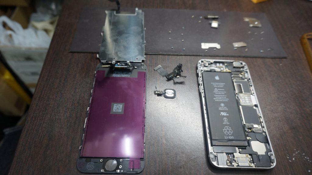 -画面液晶割れ交換 iPhone6 5