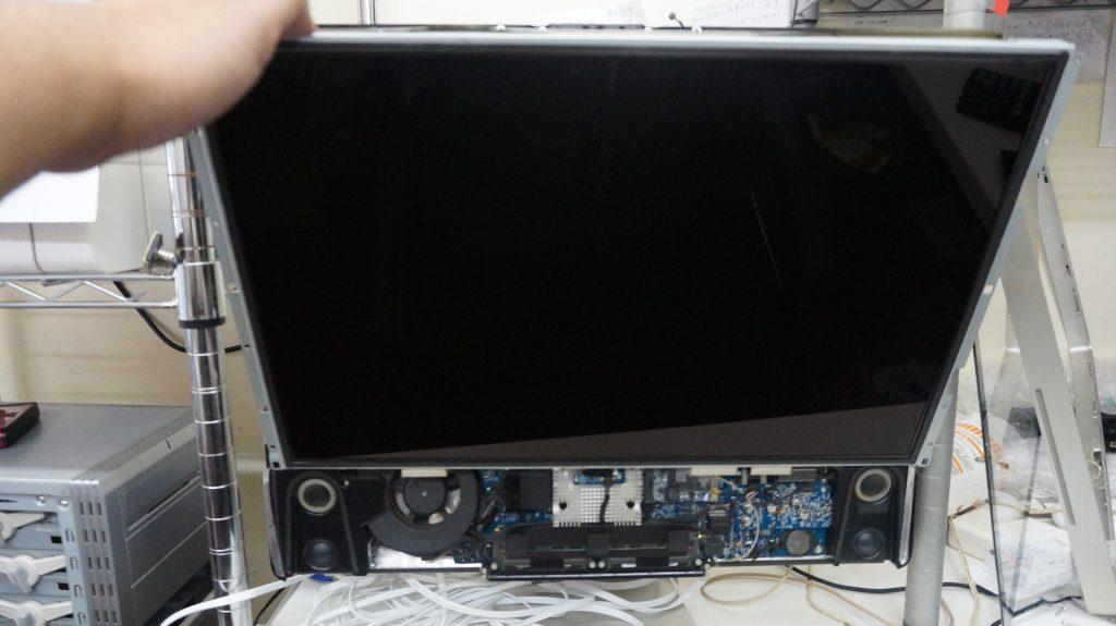 HDD動作が遅いSSD換装 iMac A1224 1