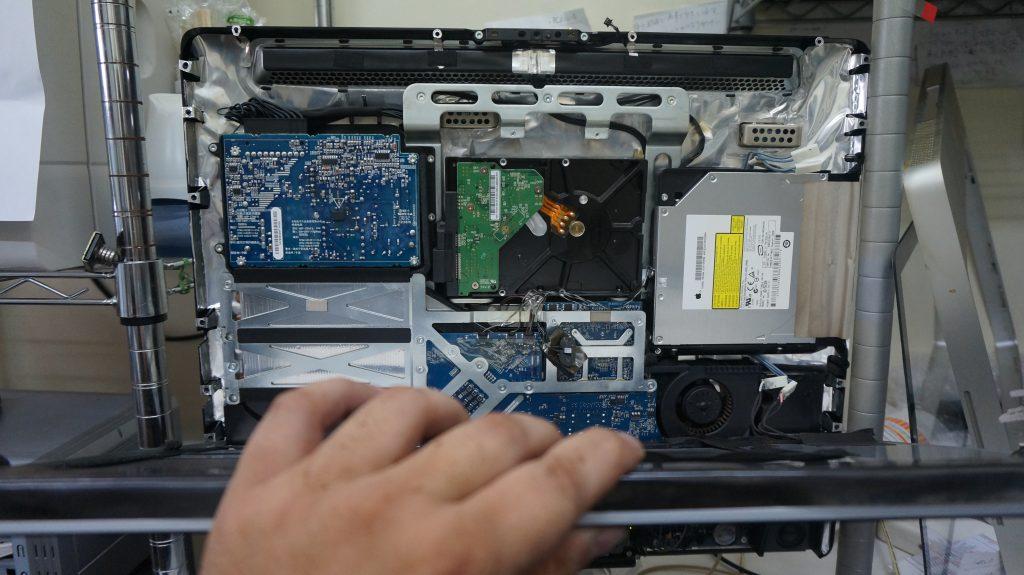 HDD動作が遅いSSD換装 iMac A1224 2