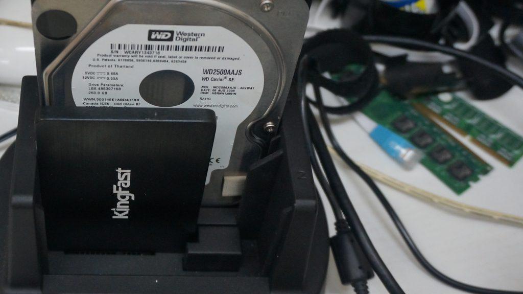HDD動作が遅いSSD換装 iMac A1224 4