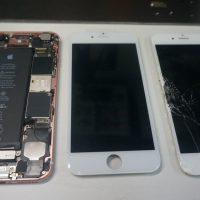 液晶画面修理 ガラス割れ iPhone6s 3