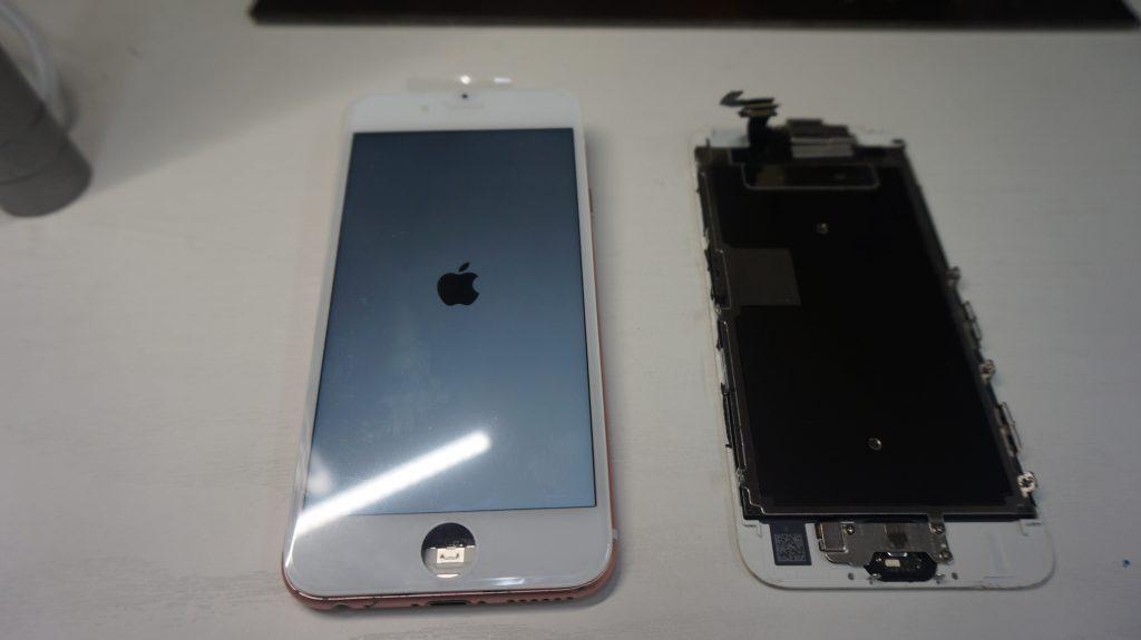 液晶画面修理 ガラス割れ iPhone6s 4