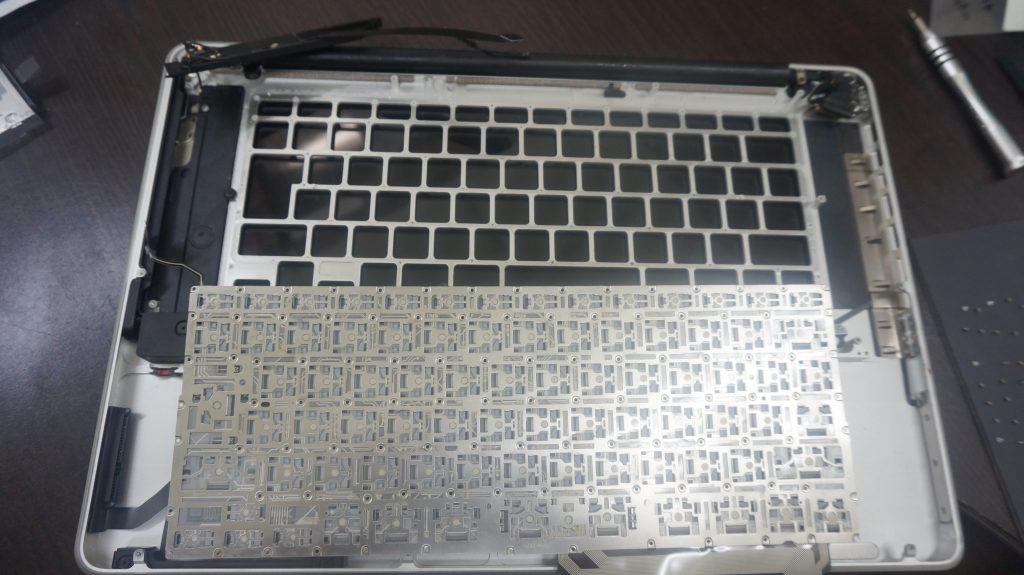 キーボード交換 Macbook Pro A1286 8