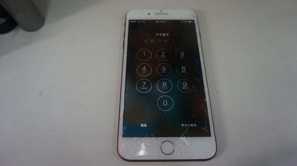画面割れ液晶割れ交換します iPhone7 1
