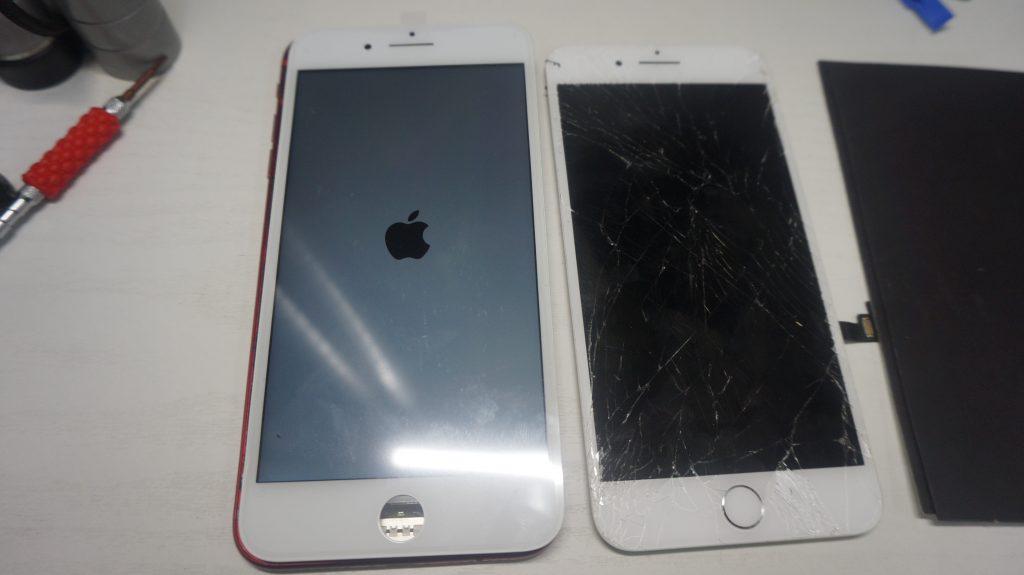 画面割れ液晶割れ交換します iPhone7 4