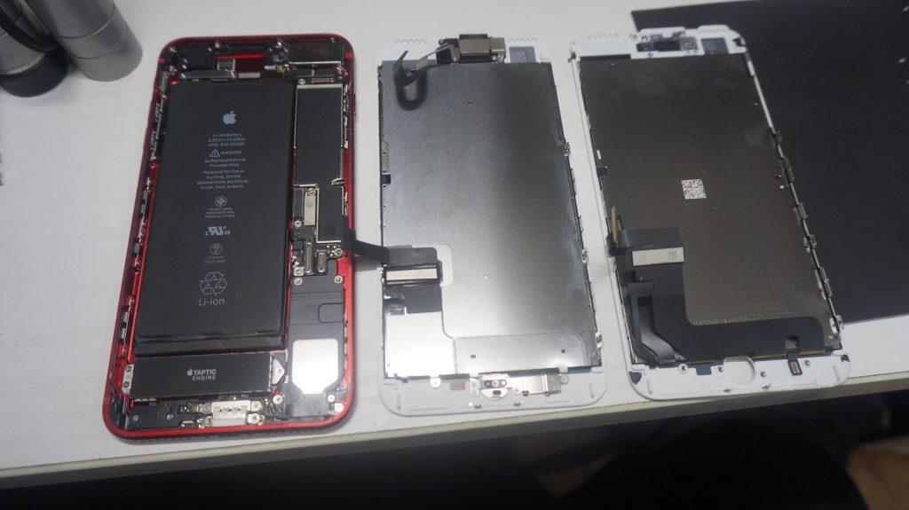 画面割れ液晶割れ交換します iPhone7 5