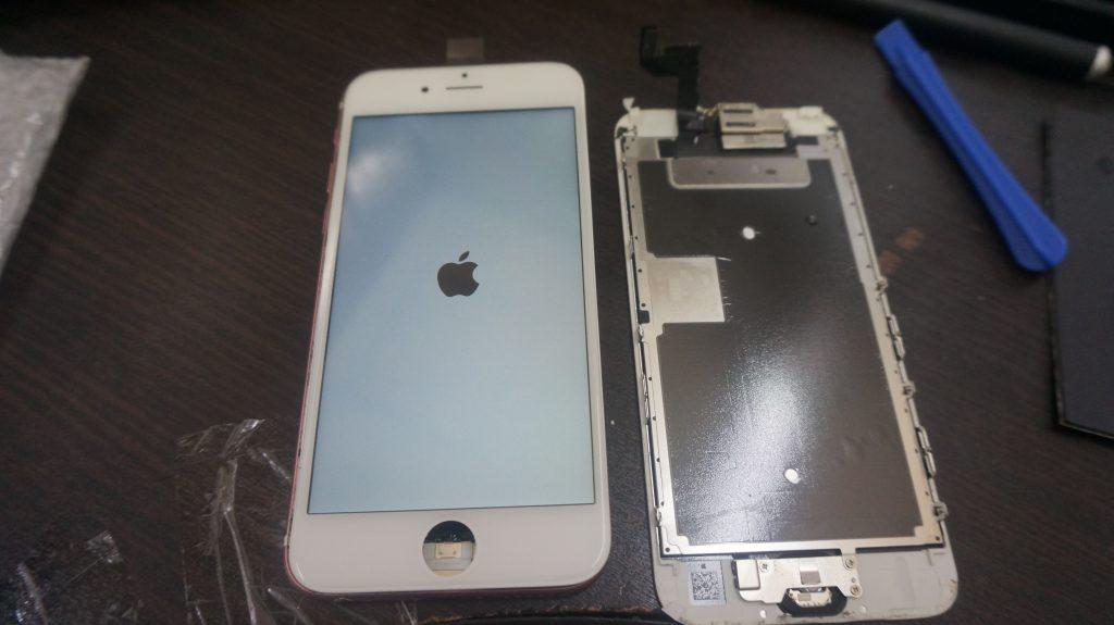 水没で液晶交換 iPhone6s 4