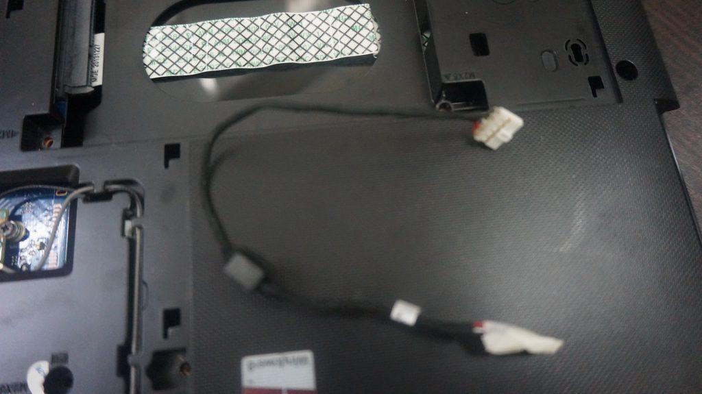 電源ジャック修理 Lenovo G50-70 6