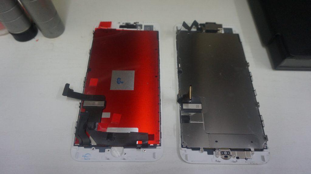 液晶割れを交換修理 iPhone7 Plus 4