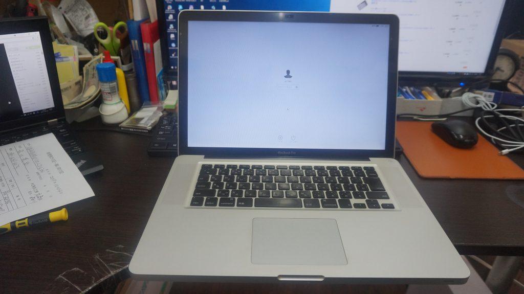 カーネルパニック 再インストール Macbook Pro A1278 1