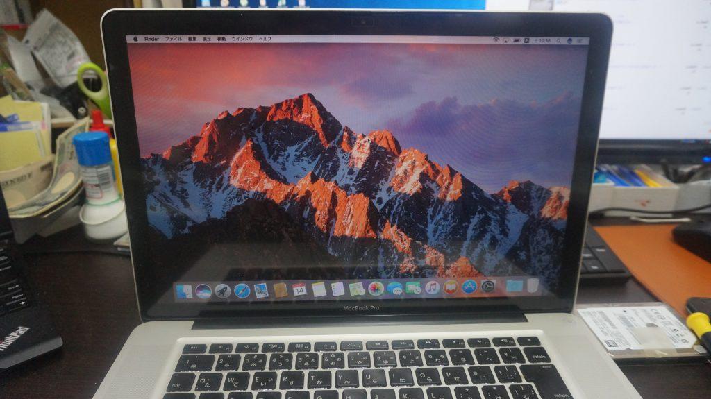 カーネルパニック 再インストール Macbook Pro A1278 5