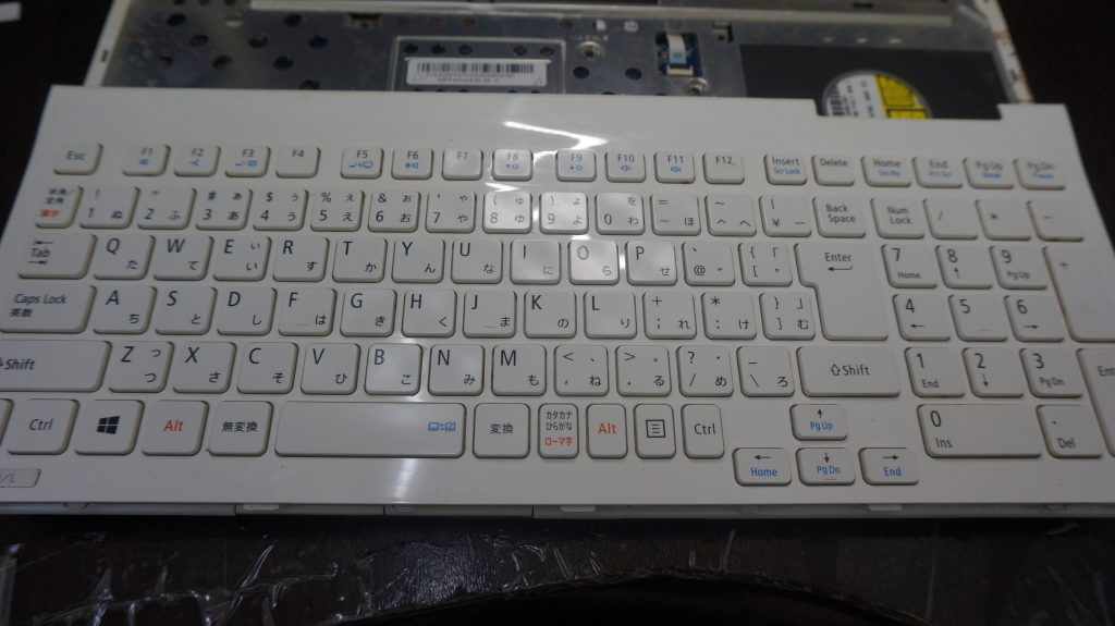 入力出来ない キーボード交換 NEC LS150/L 2