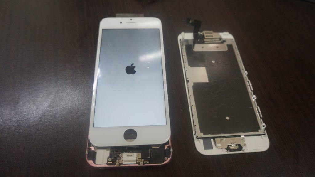 ガラス割れ液晶割れ修理交換 iPhone6 4
