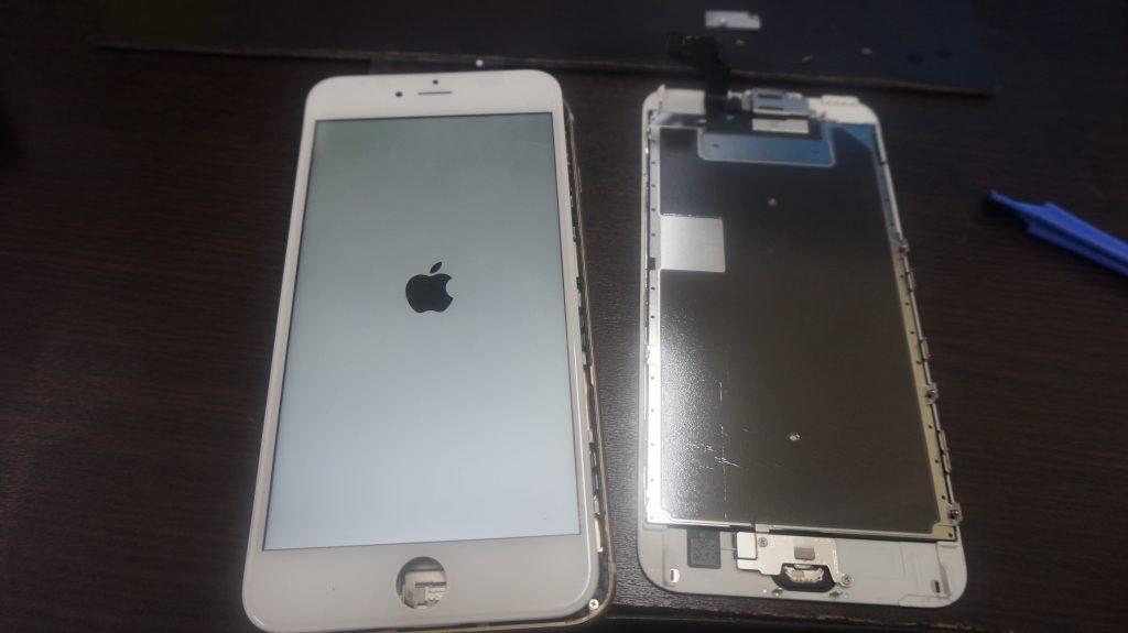 液晶ガラス割れパネル交換 iPhone6s 4