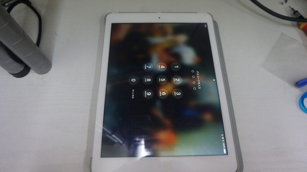 電池が膨らむ バッテリー交換 iPad Air 1