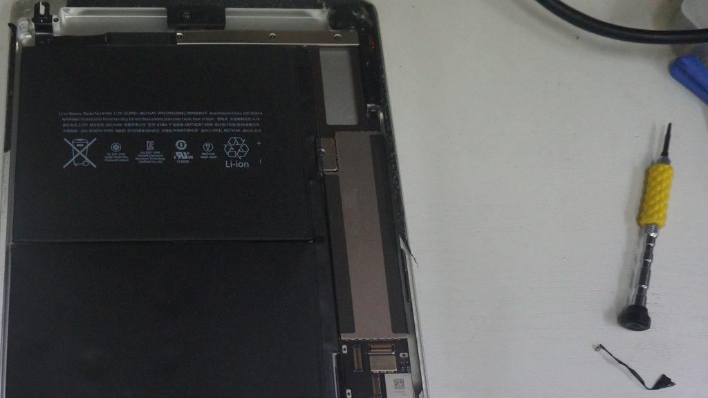 電池が膨らむ バッテリー交換 iPad Air 4
