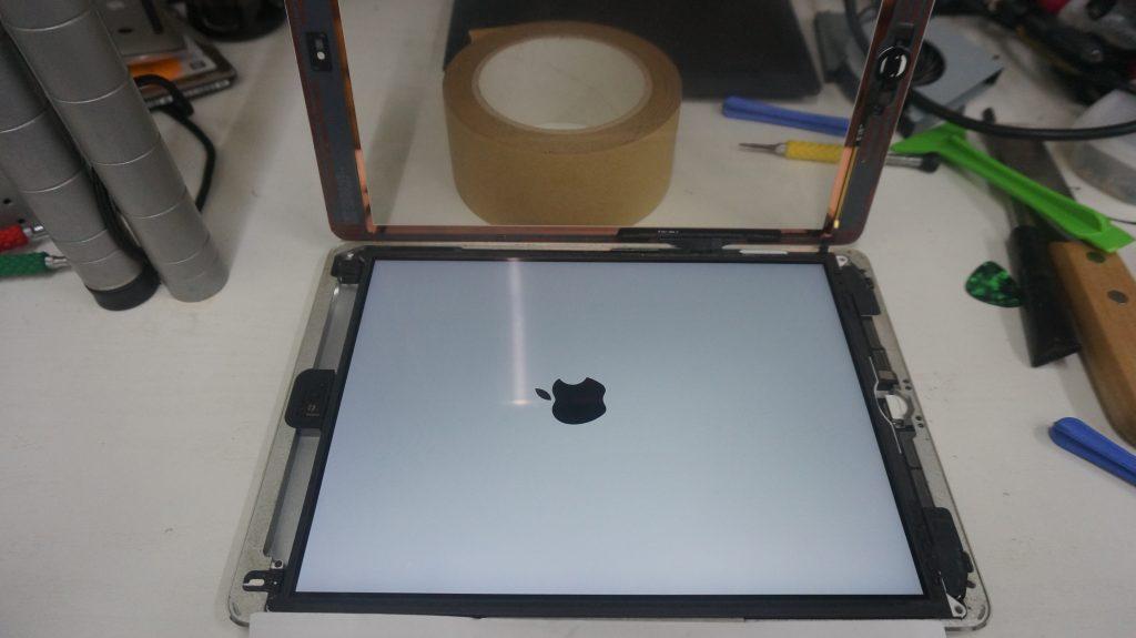 電池が膨らむ バッテリー交換 iPad Air 8