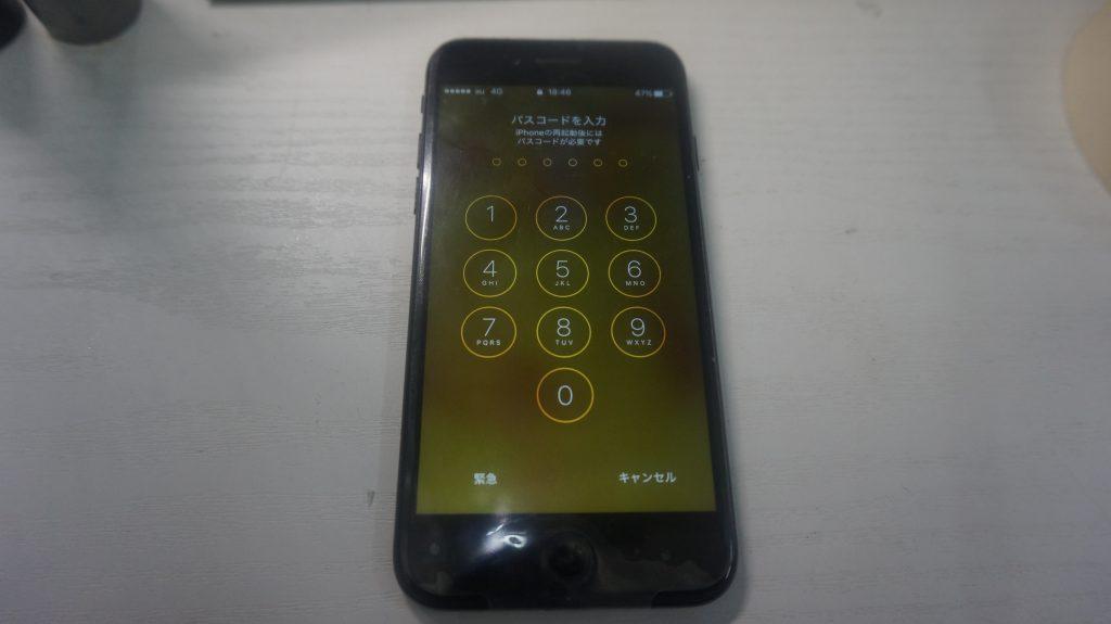 液晶縦線 液晶パネル交換 iPhone7 5