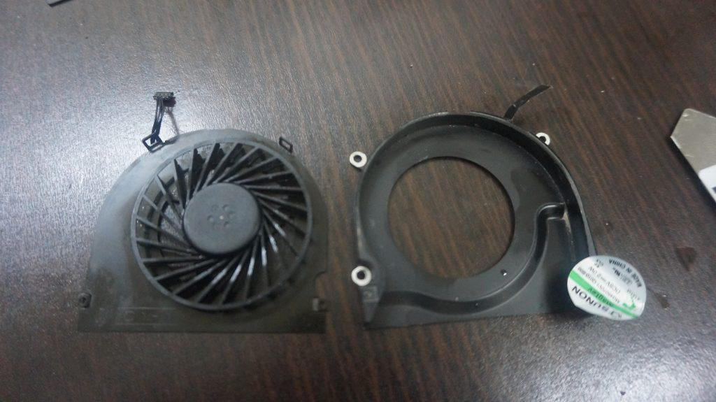 グラフィックチップ交換 SSD換装・メモリ Macbook Pro 17 A1297 2011 7