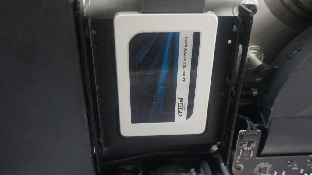 自分でSSD換装したら液晶が映らない 液晶交換 iMac 27 A1419 2K 7