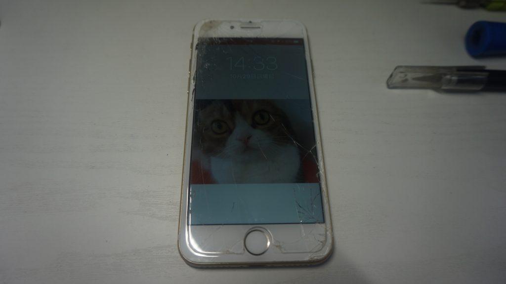 画面パネル割れ液晶交換 iPhone7 1