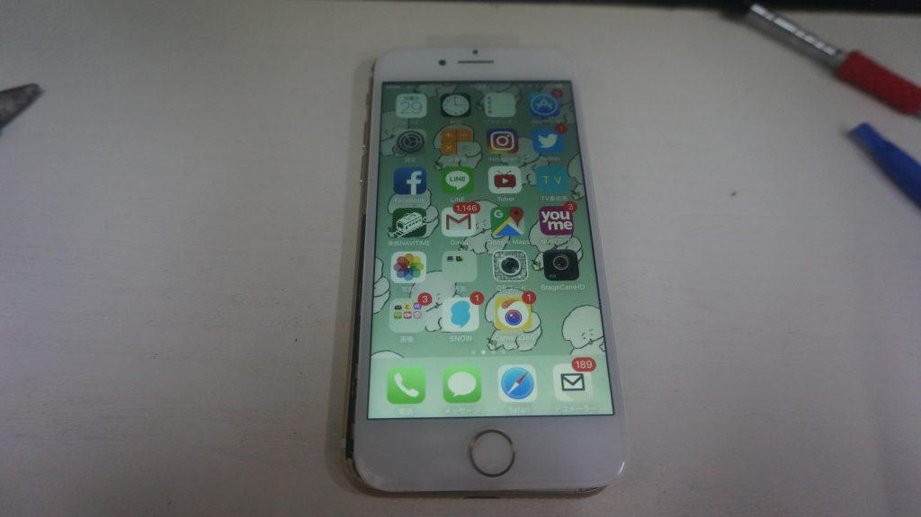 画面パネル割れ液晶交換 iPhone7 6