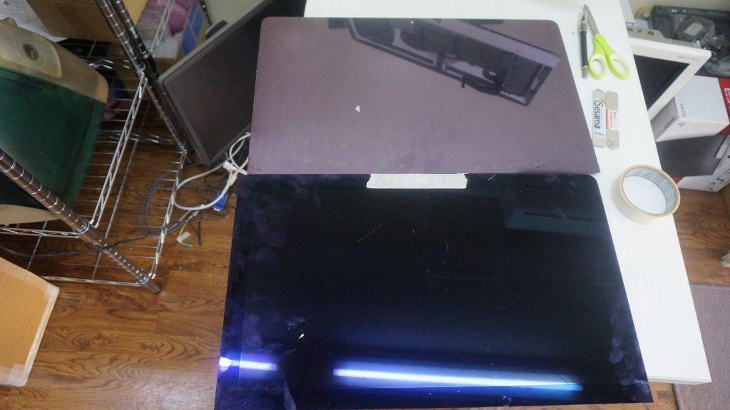 液晶割れ交換 iMac 21.5 A1418 4