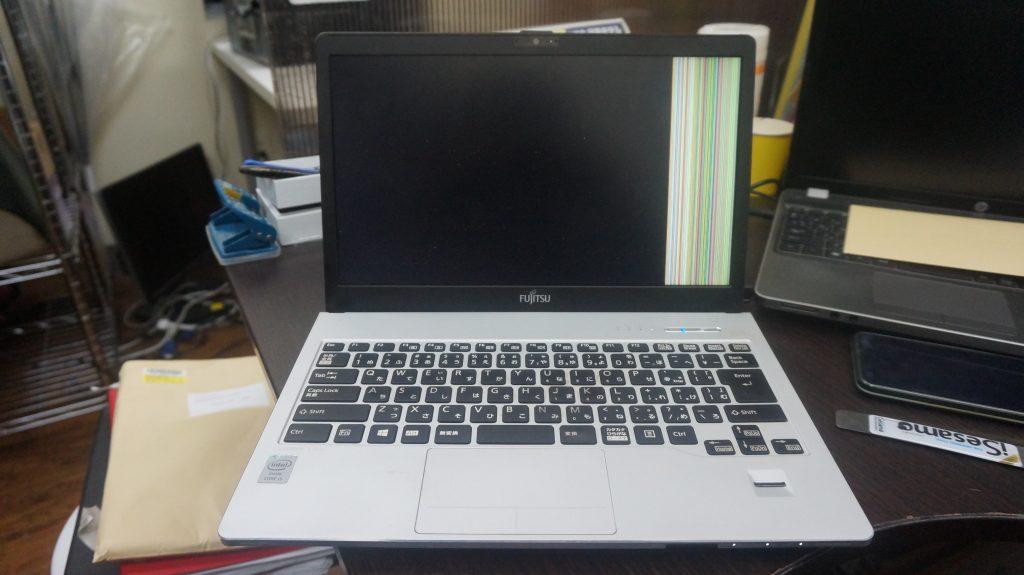 2K液晶パネル交換 FUJITSU LIFEBOOK S904/H 1