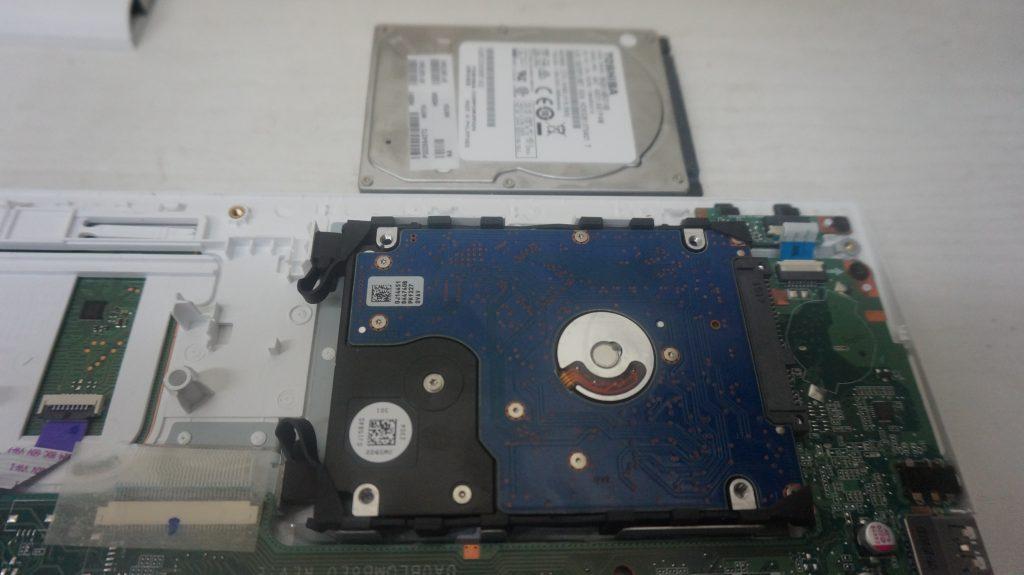 自動修復エラー HDD交換 TOSHIBA Dynabook EX/35RW 7