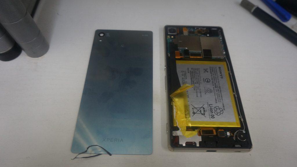 バッテリー交換 Xperia Z4 SO-03G 3