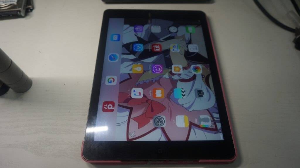 バッテリーの減りが速い バッテリー交換 iPad Air 1
