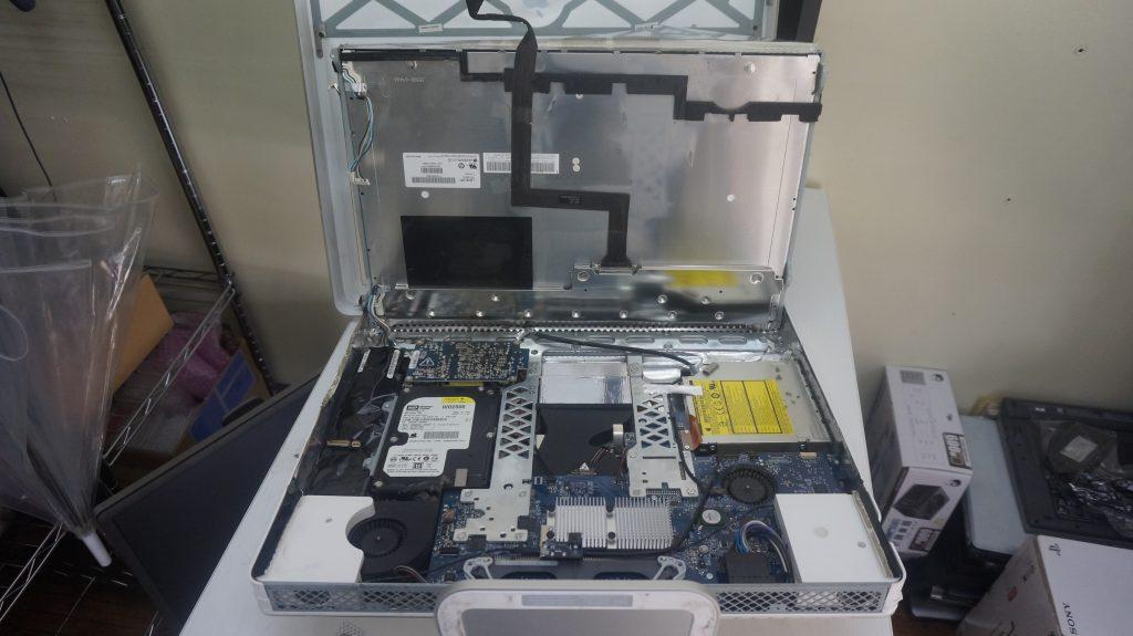 電源が入らない 電源交換 iMac G5 A1145 3