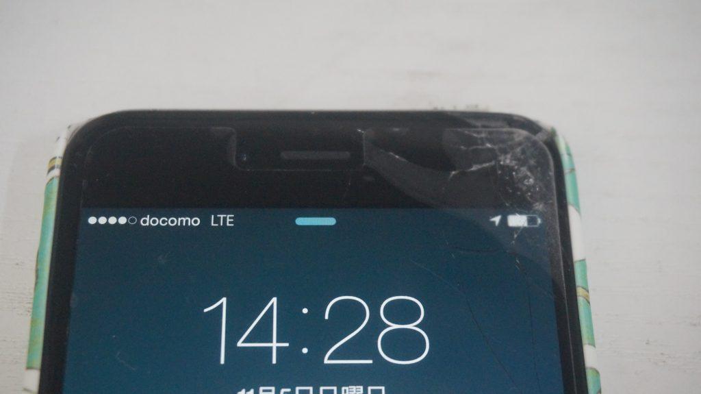 ガラス液晶割れた交換 iPhone6 Plus 2