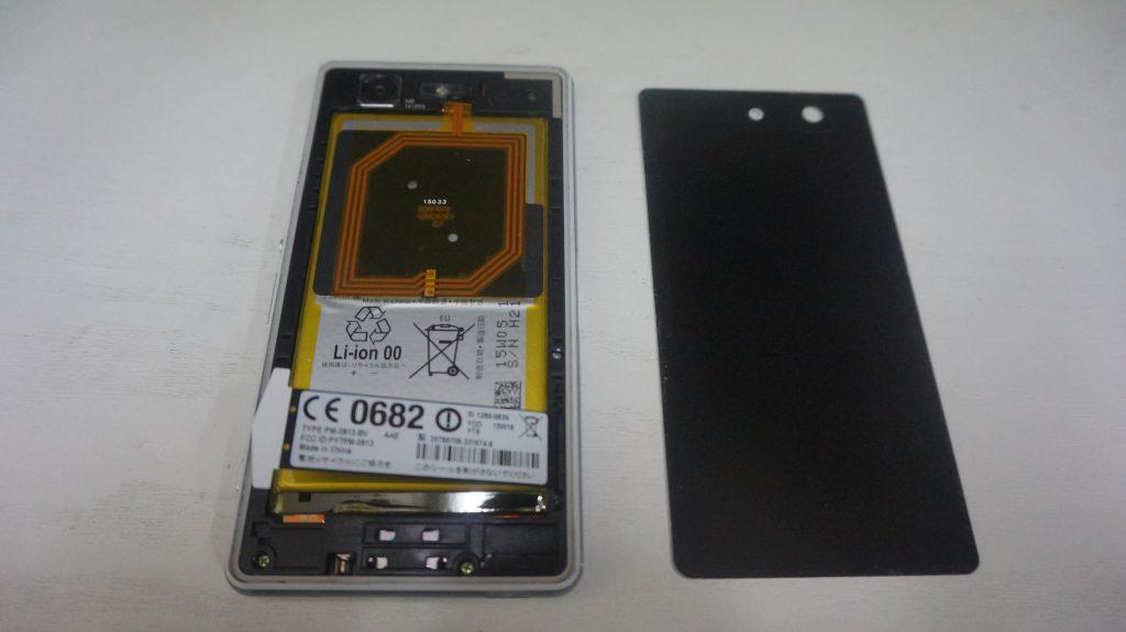すぐ落ちる バッテリー交換 Xperia Z3 Compact 2
