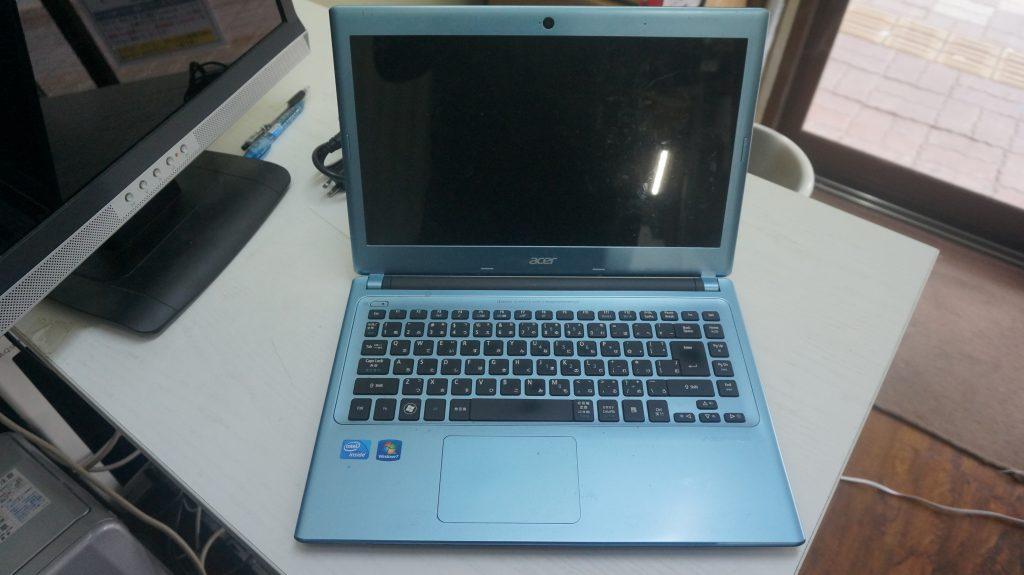 画面が赤い 液晶交換 Acer Aspire V5-431-H82CB 1